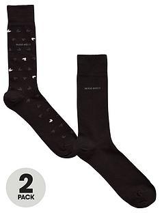 boss-2-pack-ofnbspbodywearnbspall-over-socks-black