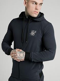 sik-silk-siksilk-agility-poly-rib-zip-through-hoodie