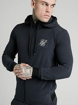 sik-silk-siksilk-agility-poly-rib-zip-through-hoodie
