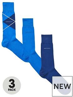 boss-bodywear-3-pack-sock-gift-set-blue