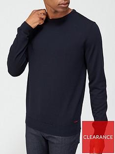 hugo-san-paolo-knitted-jumper-navynbsp