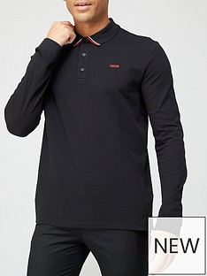hugo-donol-long-sleeve-polo-shirt-blacknbsp