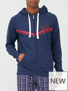 boss-authentic-zip-through-hoodie-navynbsp