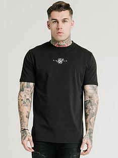 sik-silk-short-sleeve-square-hem-tee-blacknbsp