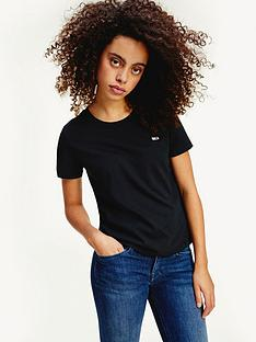 tommy-jeans-tommy-jeans-slim-logo-crew-t-shirt-noos