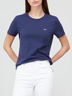 tommy-jeans-tslim-logo-crew-t-shirt-navy