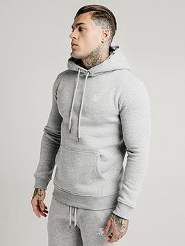 sik-silk-muscle-fit-overhead-hoodie-grey-marlnbsp