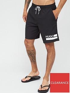 hugo-bondi-logo-swim-shorts-black