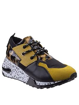 steve-madden-cliff-trainers-yellow