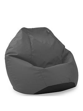 rucomfy-kids-classic-indooroutdoor-beanbag-in-grey