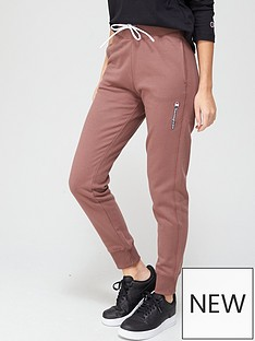 champion-rib-cuff-pants-maroon