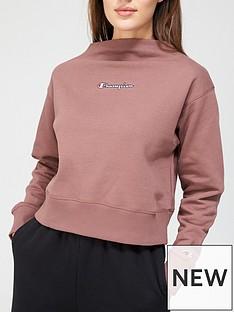 champion-high-neck-sweatshirt-maroon