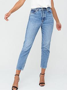 v-by-very-studio-slim-straight-leg-jean-mid-wash