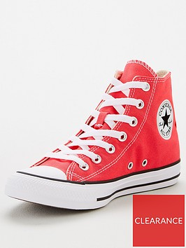 converse-chuck-taylor-all-star-hi-top-trainers-red