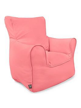 Rucomfy Kids Armchair Beanbag - Pink
