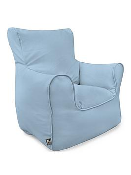 Rucomfy Kids Armchair Beanbag - Blue
