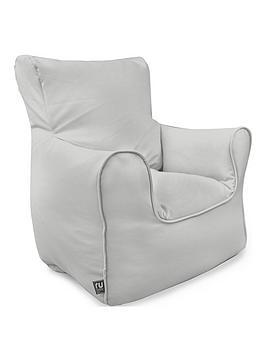 rucomfy-kids-armchair-beanbag--nbspgrey