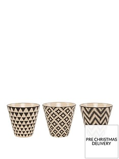 sass-belle-set-3-geo-mini-ceramic-planters