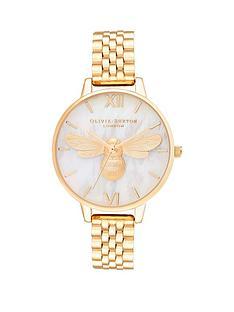 olivia-burton-olivia-burton-lucky-bee-mop-demi-dial-gold-bracelet-watch