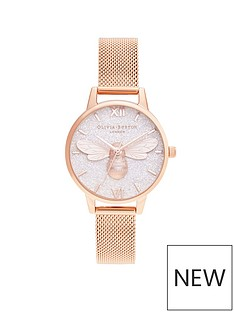 olivia-burton-olivia-burton-lucky-bee-and-rose-gold-mesh-watch