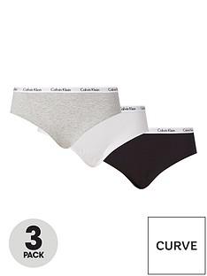 calvin-klein-plus-3-pack-branded-waistband-knicker-blackgreywhite