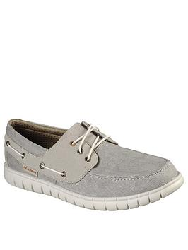 skechers-moreway-boat-shoes-grey