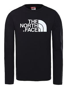 the-north-face-easy-long-sleeve-t-shirt-blackwhite