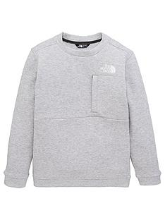 the-north-face-childrensnbspslacker-crew-sweatshirt-grey