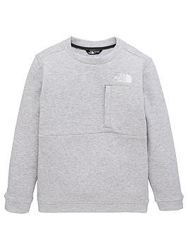 the-north-face-childrensnbspslacker-crew-sweatshirt-grey