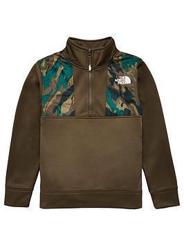 the-north-face-surgent-14-zip-sweatshirt-green