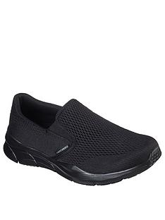 skechers-equaliser-40-slip-on-trainers-black