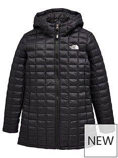 the-north-face-girls-thermoball-eco-parka-jacket-black-white