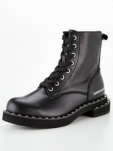 calvin-klein-nannie-chunky-leathernbspflat-biker-boot-black