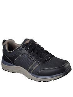 skechers-sentinal-lunder-lace-up-shoes-black