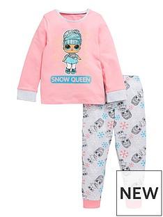 lol-surprise-girlsnbspsnow-queen-long-sleeve-pjs-pink