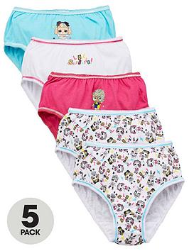 lol-surprise-girlsnbspmusic-5-pack-knickers-5-pack-multi