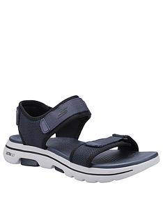 skechers-gowalk-5-velcro-sandals-navy