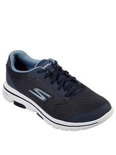 skechers-gowalk-5-lace-up-trainers-navy