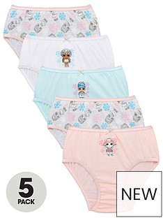 lol-surprise-girlsnbspwinter-5-pack-knickers-multi