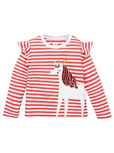 mini-v-by-very-girls-christmas-stripe-unicorn-long-sleeve-t-shirt-red