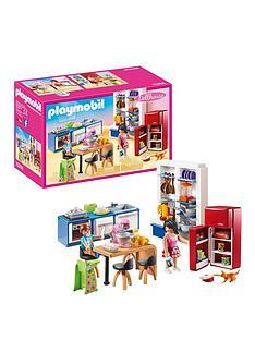 playmobil-70206-dollhouse-family-kitchen