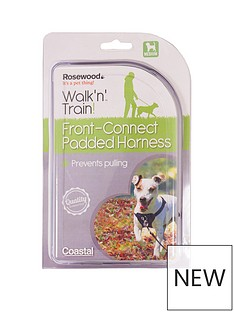 rosewood-front-connect-padded-dog-harness-medium