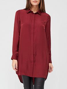 v-by-very-premiumnbsplonglinenbspshirt-burgundy