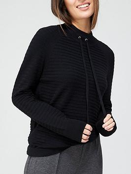 v-by-very-funnel-neck-knitted-jumper-with-tie-cords-blacknbsp