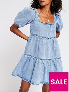 river-island-denim-smock-dress-light-blue