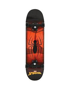 spiderman-skateboard