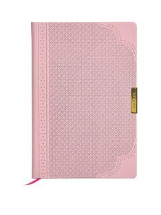 ted-baker-a5-brogue-geo-notebook-dusky-pink