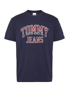 tommy-jeans-tjm-plaid-collegiate-t-shirt-navynbsp