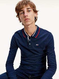 tommy-jeans-tjmnbspstretch-slim-long-sleeve-polo-shirt-navynbsp