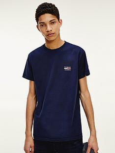 tommy-jeans-tjmnbspchest-logo-t-shirt-navy